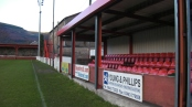 Showpiece: Ynys Park is set to host the Welsh Football League Cup Final
