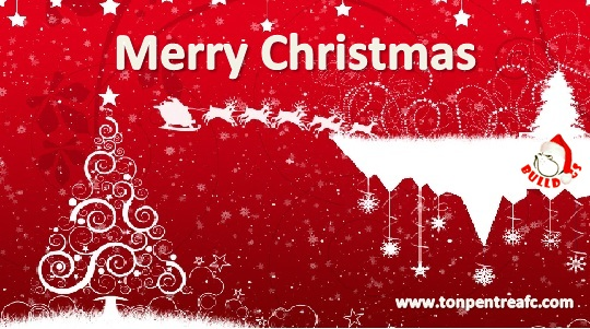 Merry Christmas From Ton Pentre AFC