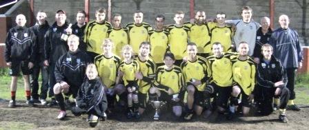 Taffs Well - The current Nathaniel Car Sales League Cup holders.