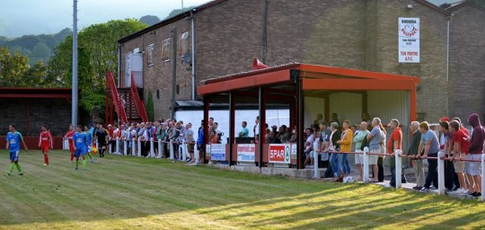 Spectators at Ynys Park