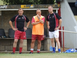 Ceri Kinsey, Gareth Bees and Dean Morris have worked hard building their squad over the summer.
