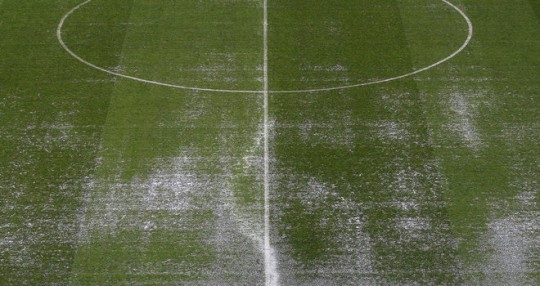 Waterlogged Pitch - Match Postponed