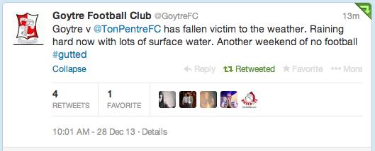Goytre FC Twitter