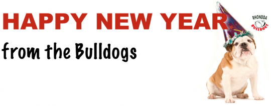 Happy New Year from the Bulldogs