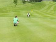 Golf Action.
