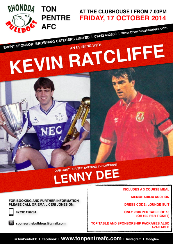 Kevin Ratcliffe Poster