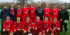 Scott Young, fourth from left in back row, is pictured in the Ton Pentre team prior to a Welsh Cup match at Bala Town in 2004/2005.