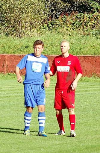 Ryan Morgan pleasingly made a return the starting line-up against Haverfordwest County.