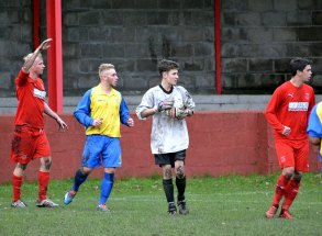 Liam Williams was called up from the Youth Team to deputise for Neil Collins. Wiliams turned in an impressive display.