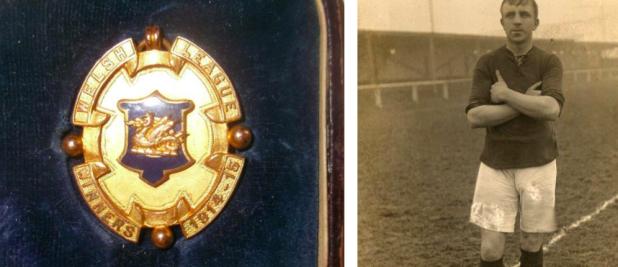 Welsh League winners medal 1914/15